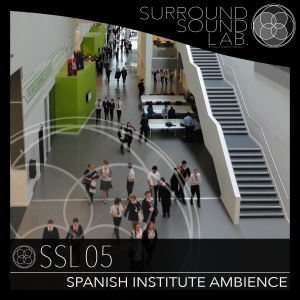 SSL05 – Spanish Institute Ambiences