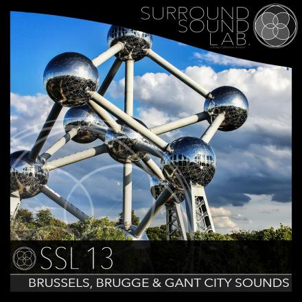 SSL13 – Brussels, Brugge & Gant City Sounds