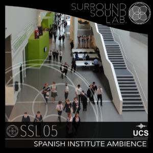 SSL05 Spanish Institute Ambiences