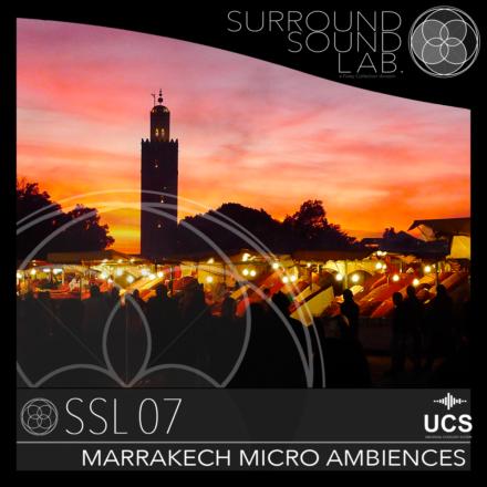 SSL07 Marrakech Micro Ambiences