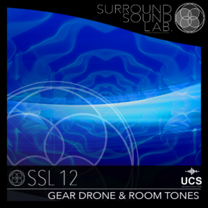 SSL12 Gear Drone & Room Tones