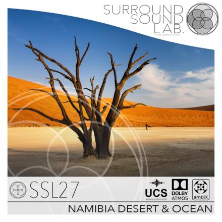 SSL27 NAMIBIA DESERT & OCEAN