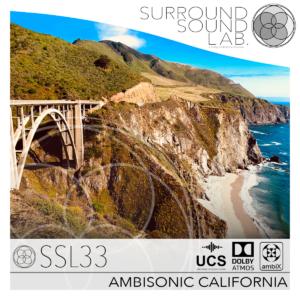 SSL33 AMBISONIC CALIFORNIA