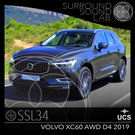 SSL34 Volvo XC60 AWD D4 2019