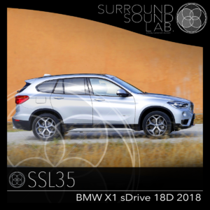 SSL35 BMW X1 sDrive 18d 2018