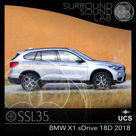 SSL35 BMW X1 sDrive 18d 2018